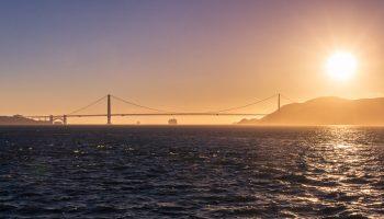 USA-californie-san-francisco-sunset