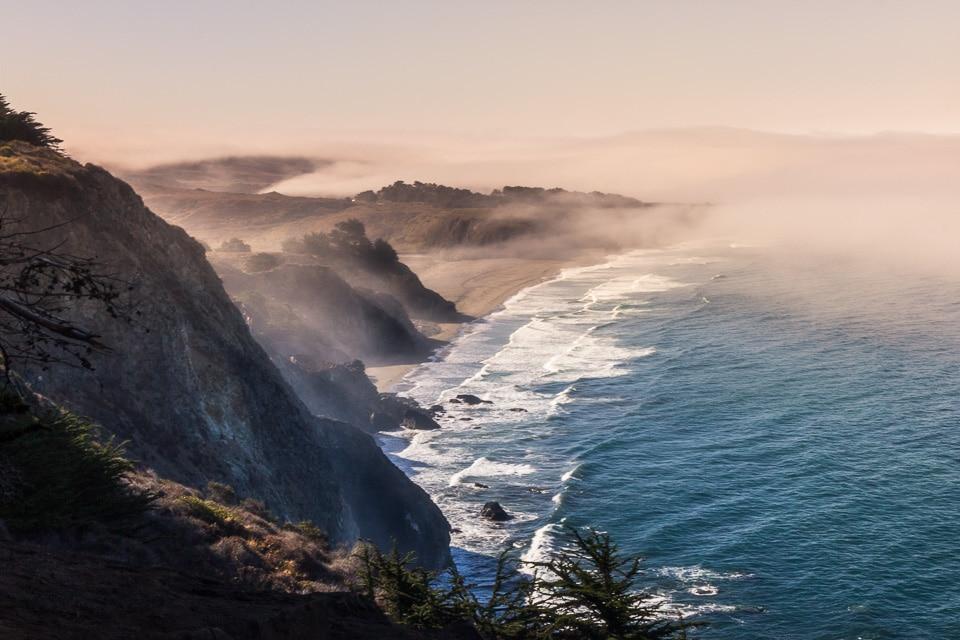 Cote pacifique californie