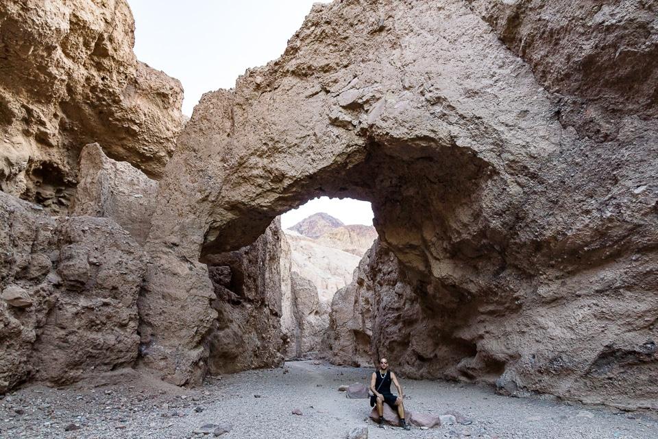 natural bridge death valley