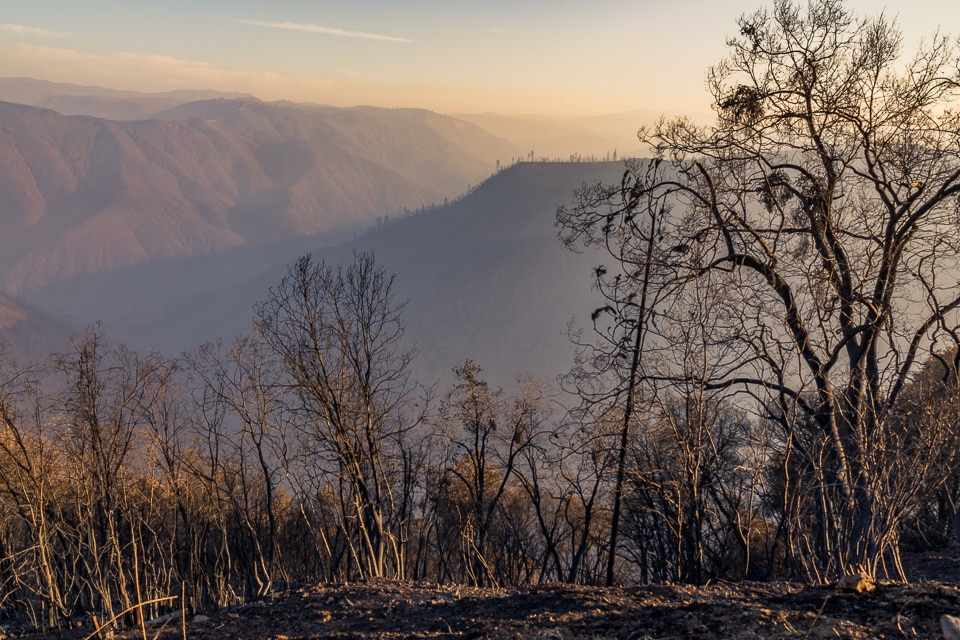 Yosemite californie feux
