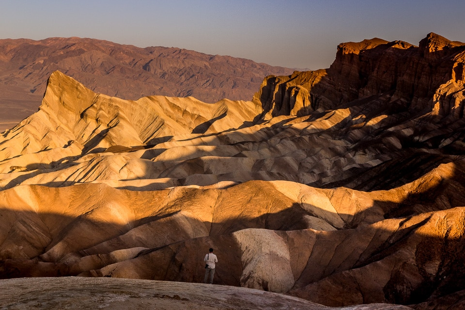 zabriskie point usa death valley