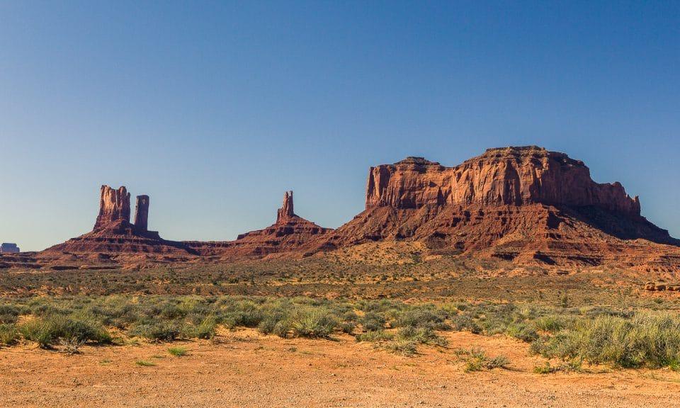 monument valley aux états unis