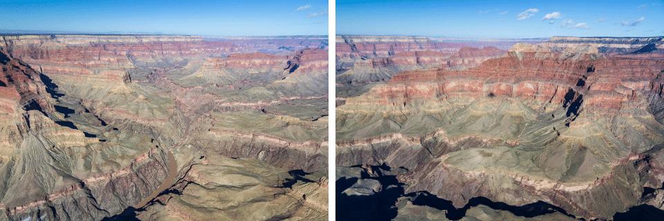 arizona grand canyon hélicoptère