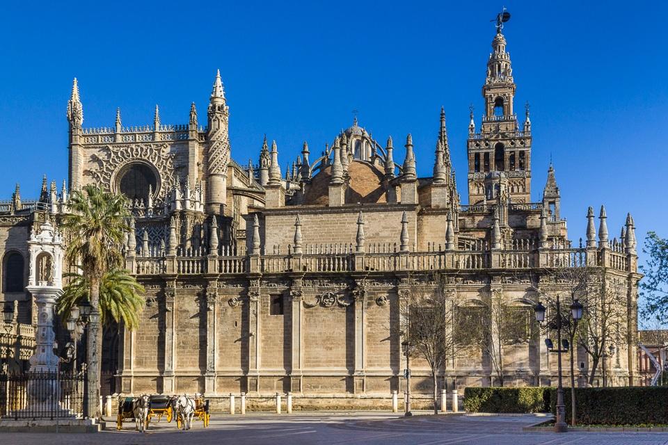cathédrale séville andalousie