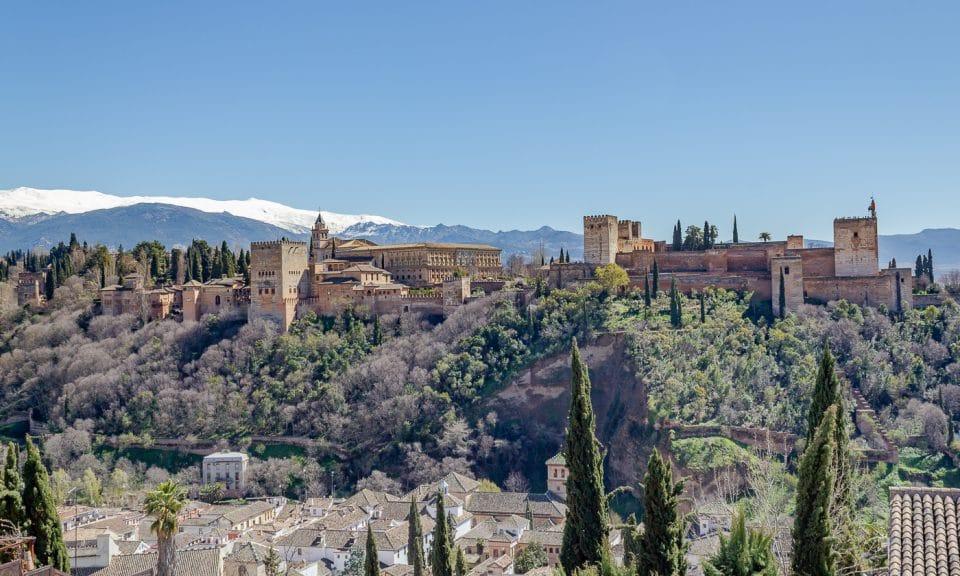 andalousie grenade alhambra