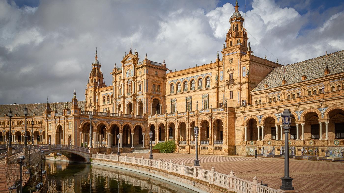 plaza espana séville