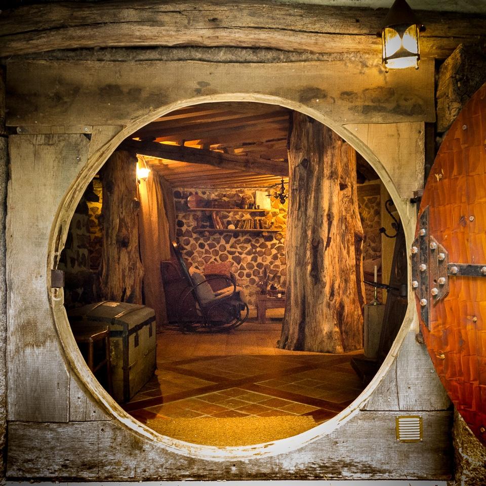 maison hobbit intérieur