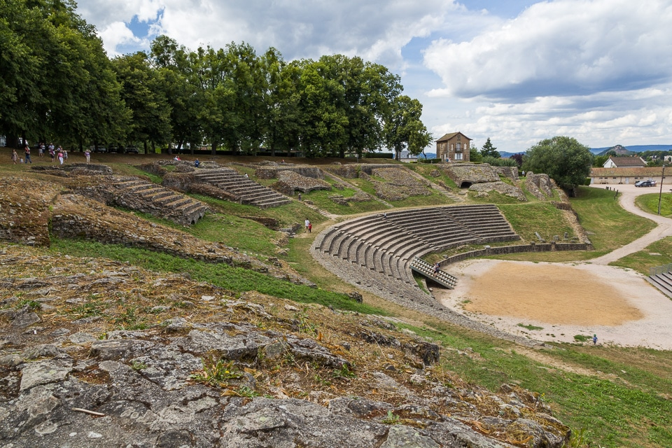 autun theatre