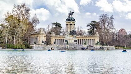 parc el retiro Madrid