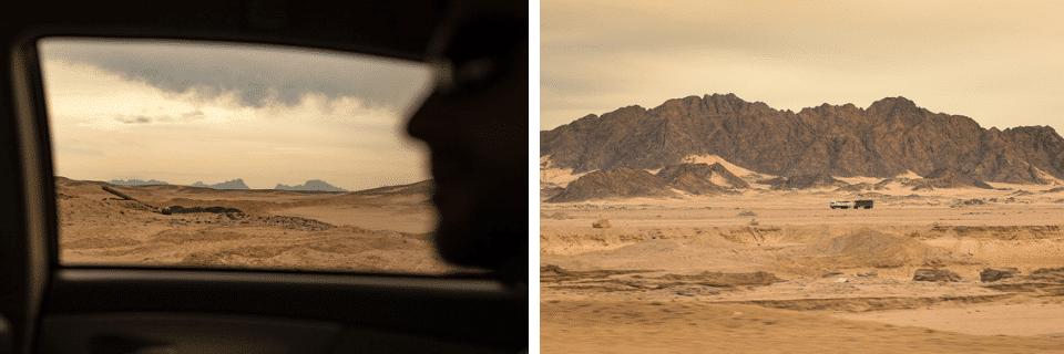 désert arabique égypte