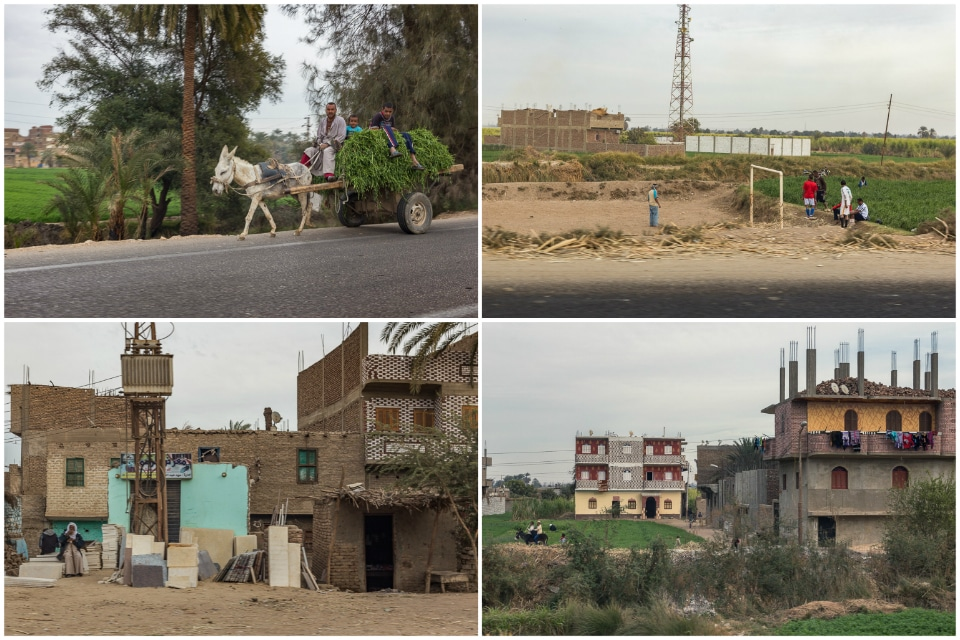 egypte pauvrete