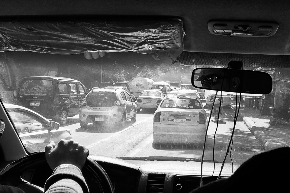 le caire traffic