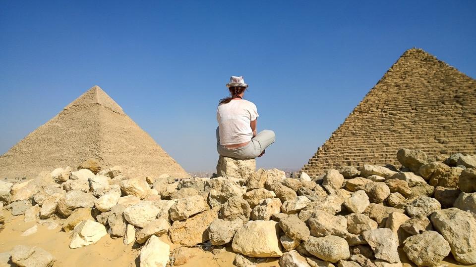 les pyramides caire