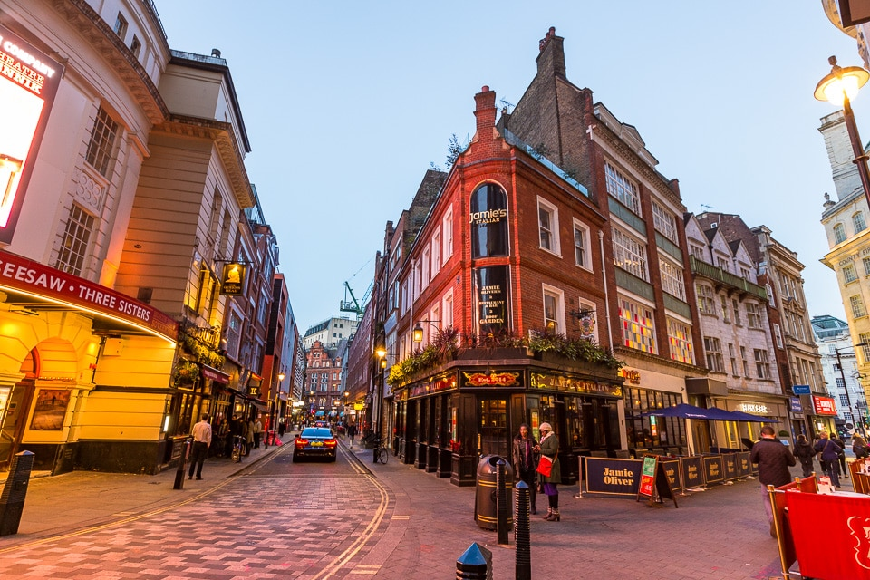 Londres rue