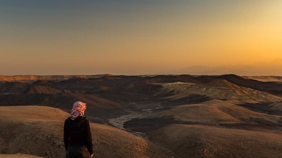 quad desert seule