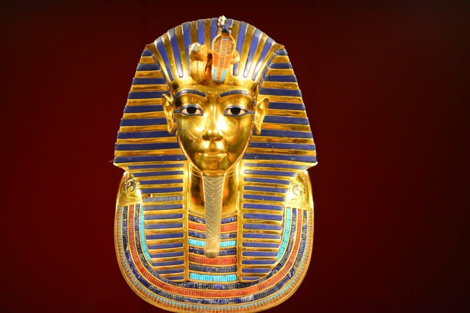 tutankhamen masque