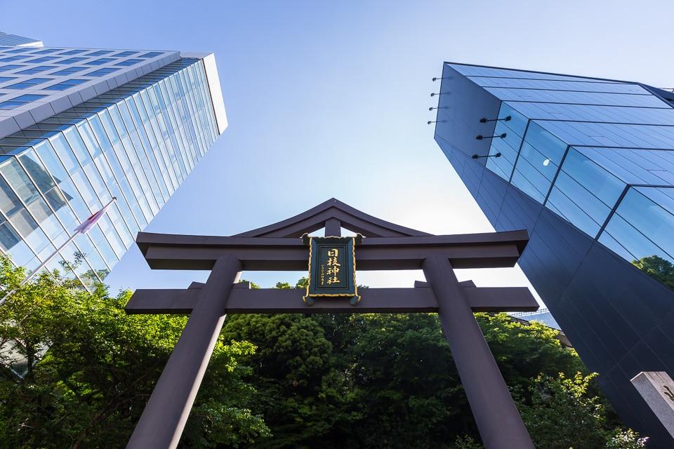 hie jinja akasaka quartiers incontournables sud Tokyo