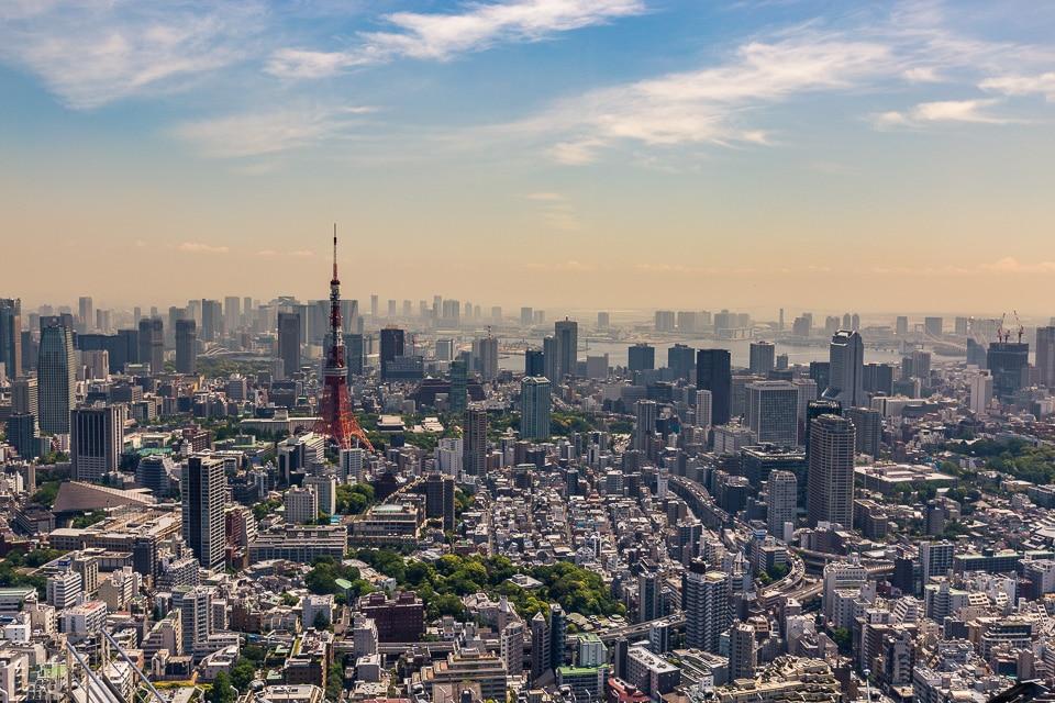 roppongi skydeck quartiers incontournables sud Tokyo