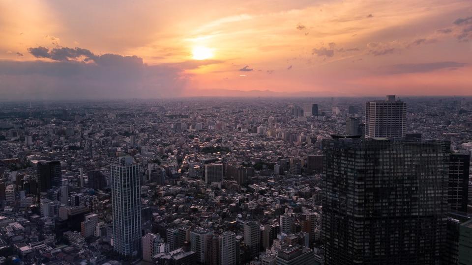 sunset quartiers incontournables sud Tokyo