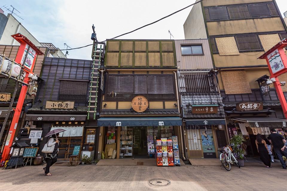 asakusa rue denbouin quartiers incontournables nord tokyo