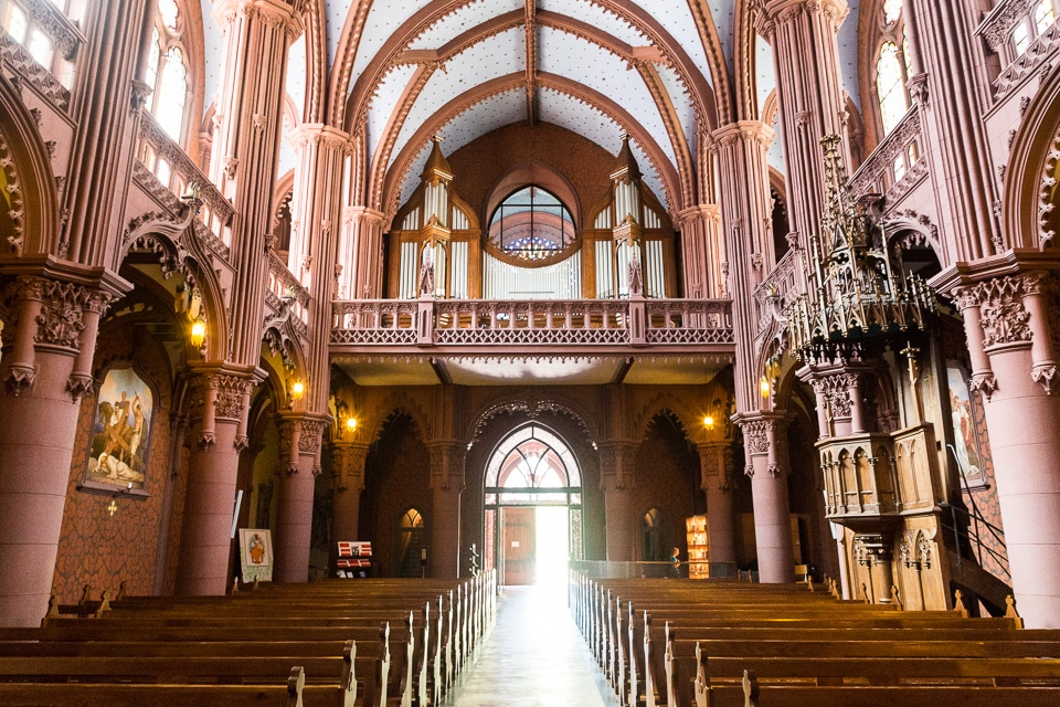 basilique neo gothique neuchatel