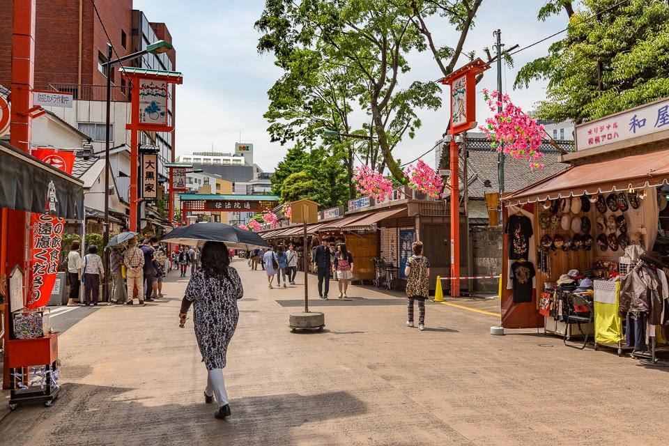 denbouin street tokyo quartiers incontournables nord