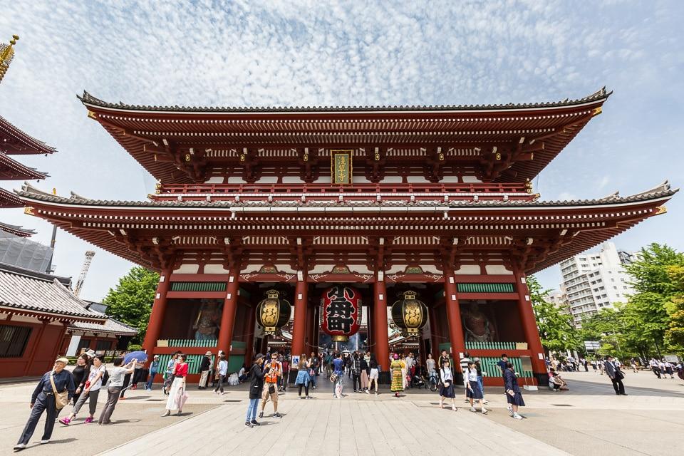 sensoji asakusa quartiers incontournables nord tokyo