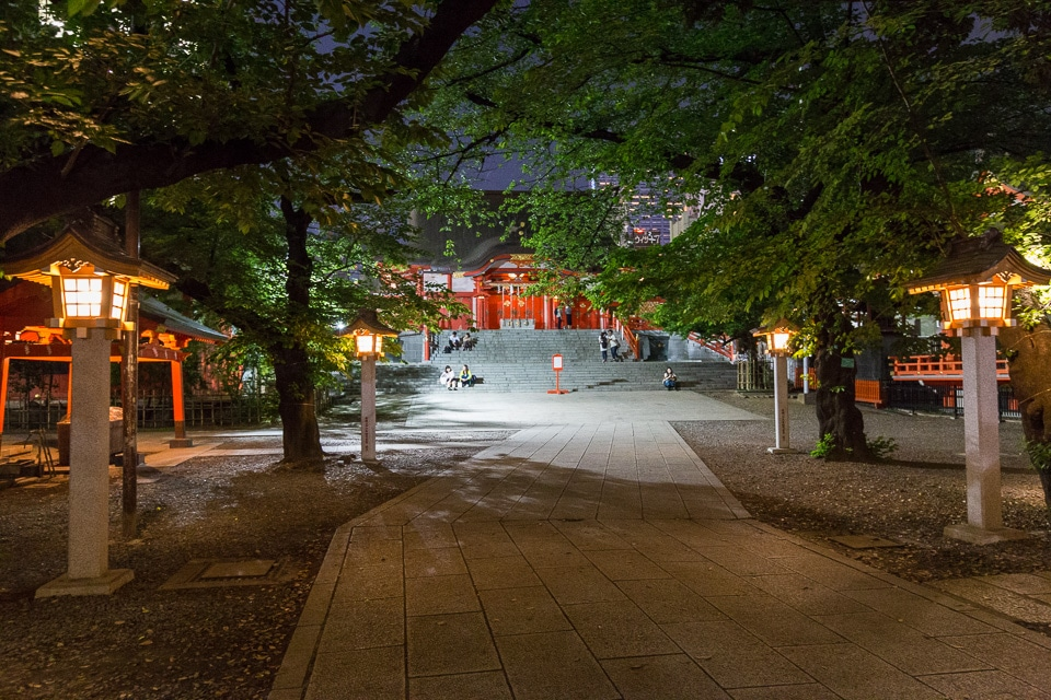 shinjuku shrine