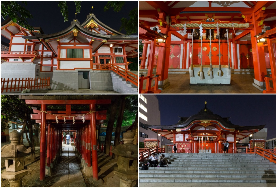 shrine shinjuku nuit