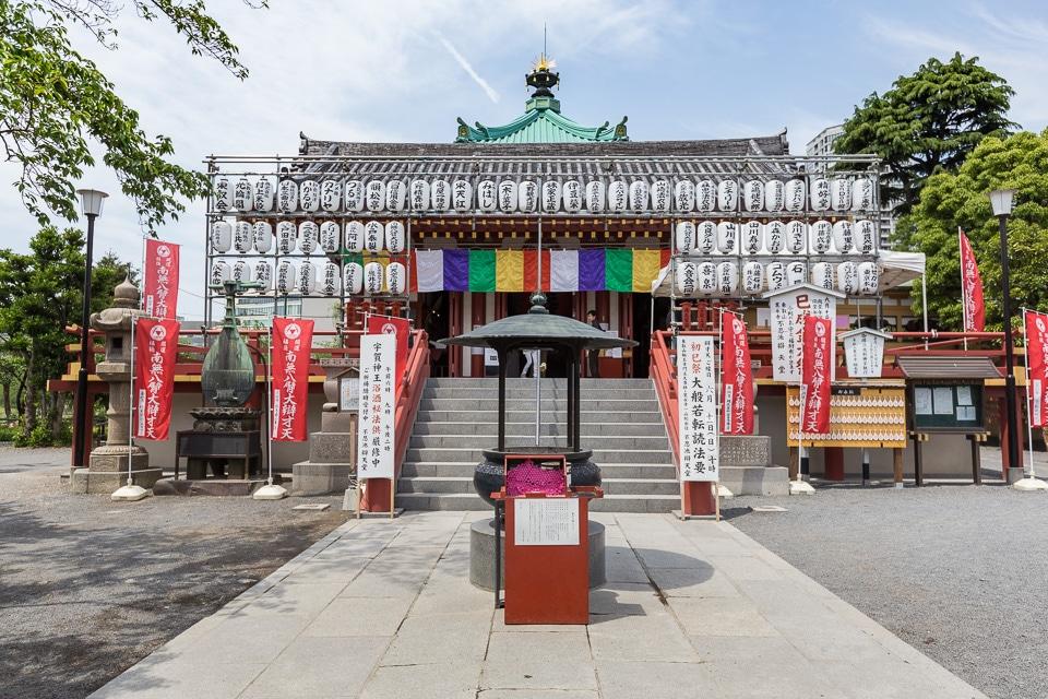 shrine ueno quartiers incontournables nord tokyo