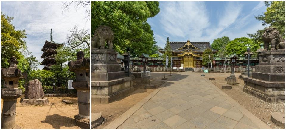 temple jardin ueno