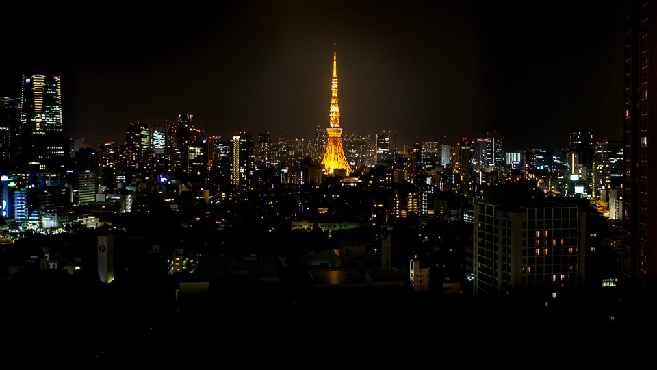 tower of tokyo nuit