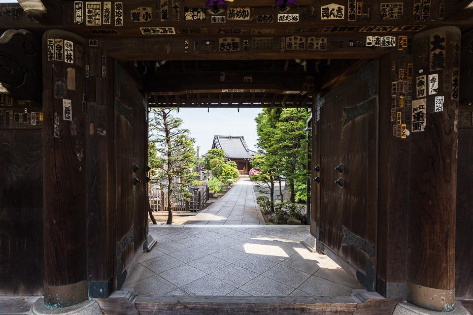 yanaka temple quartiers incontournables nord tokyo