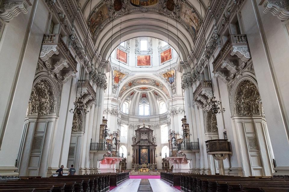 cathédrale salzbourg