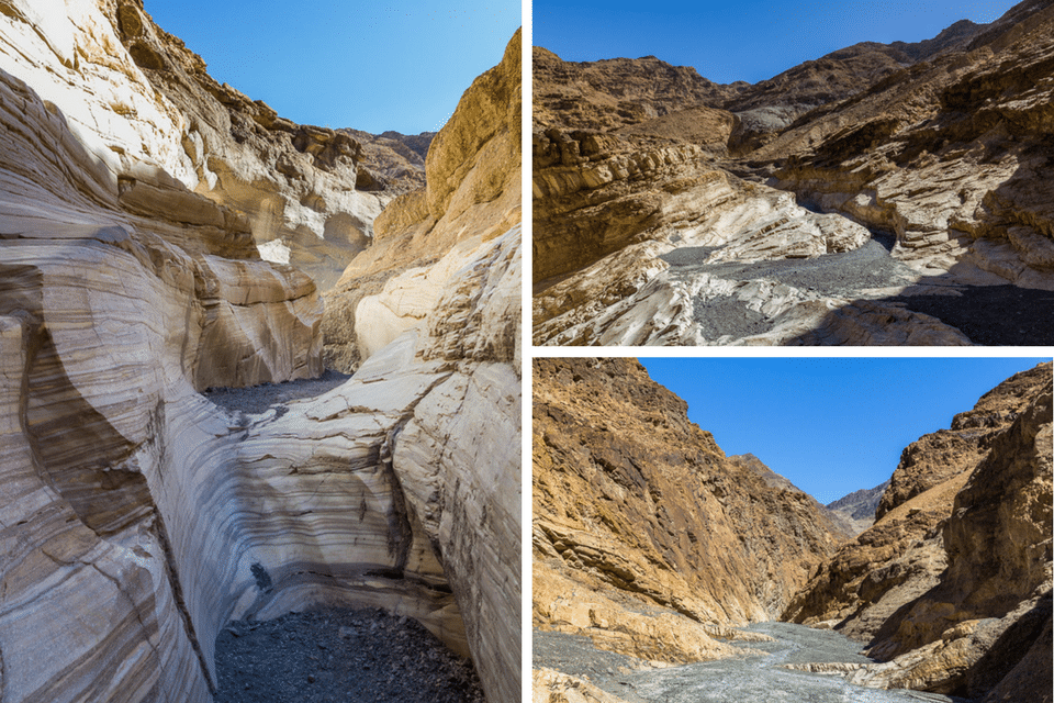 Mozaic Canyon death valley
