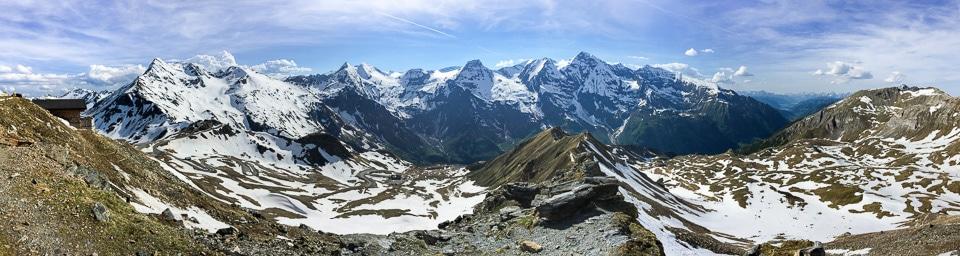 panorama grossglockner