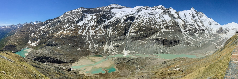panorama pasterze glacier