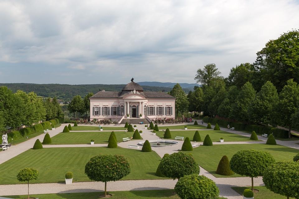 abbaye melk jardins