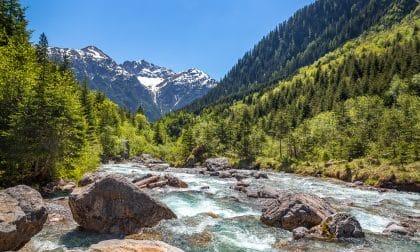 rivière à holzgau en autriche