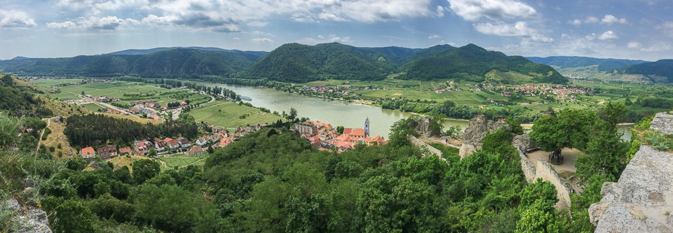 panorama durnstein