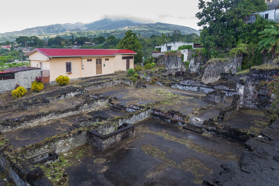 saint pierre theatre ruine