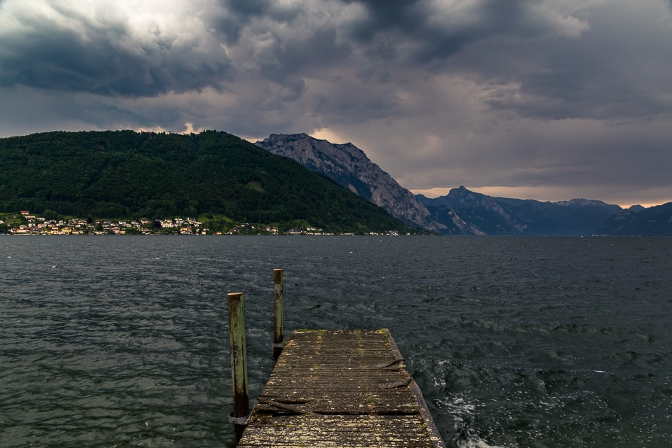 traunsee autriche lac