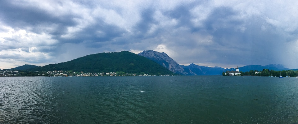 traunsee lac autriche