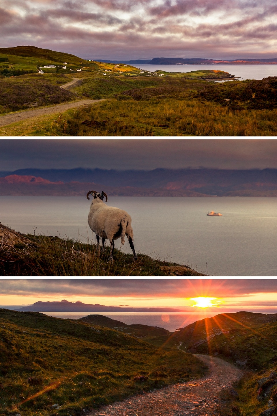 skye sunset aird of sleat