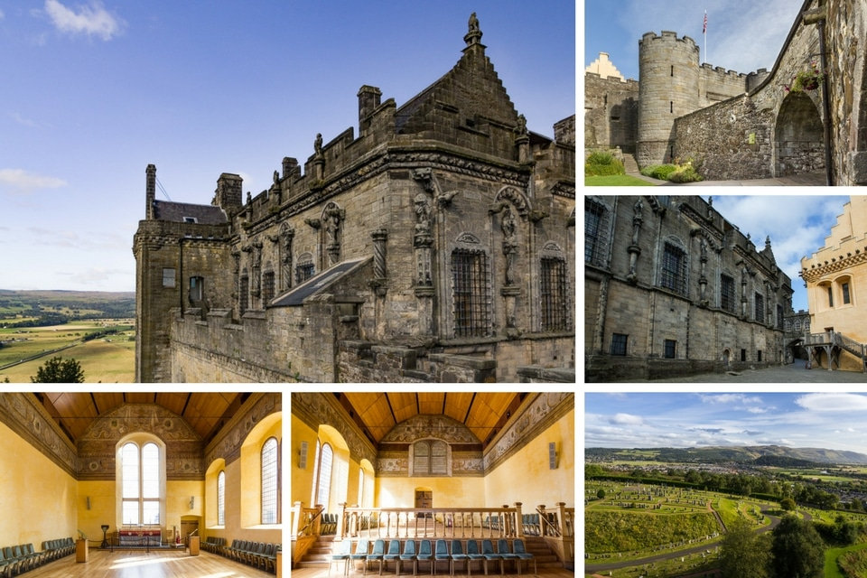 stirling ecosse chateau