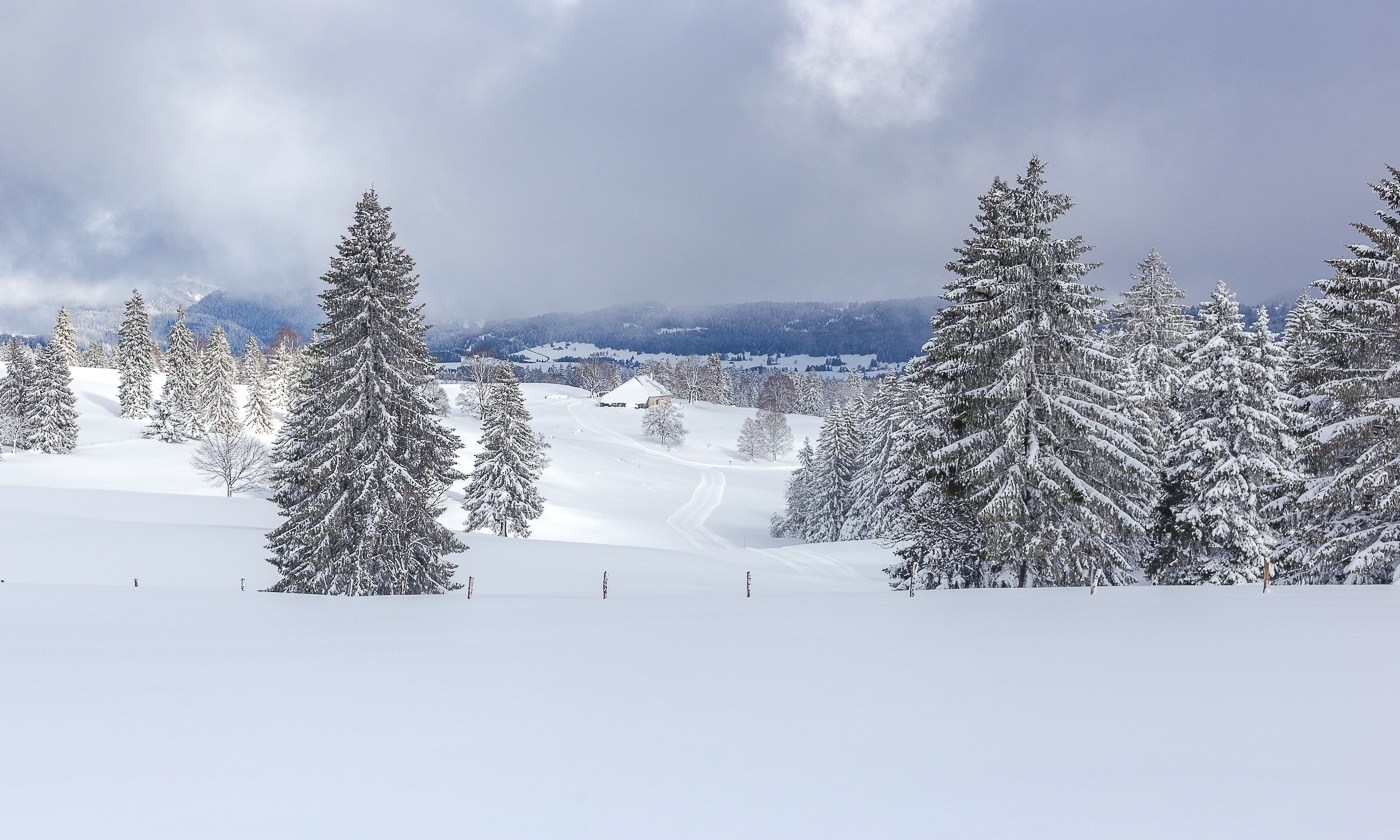 mont de l'herba neige