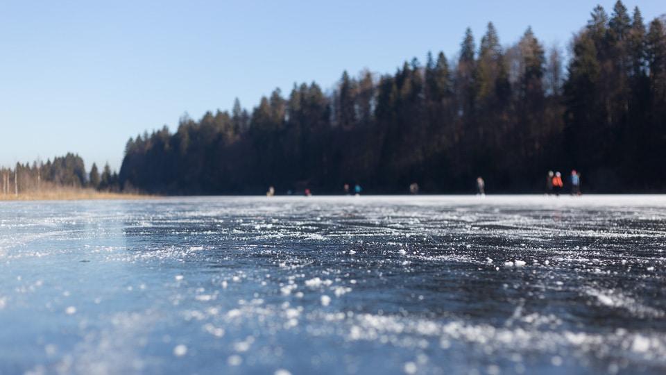 haut doubs lac gelé