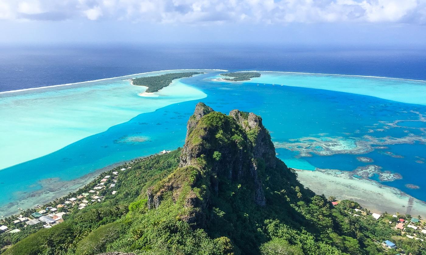 lagon maupiti polynésie