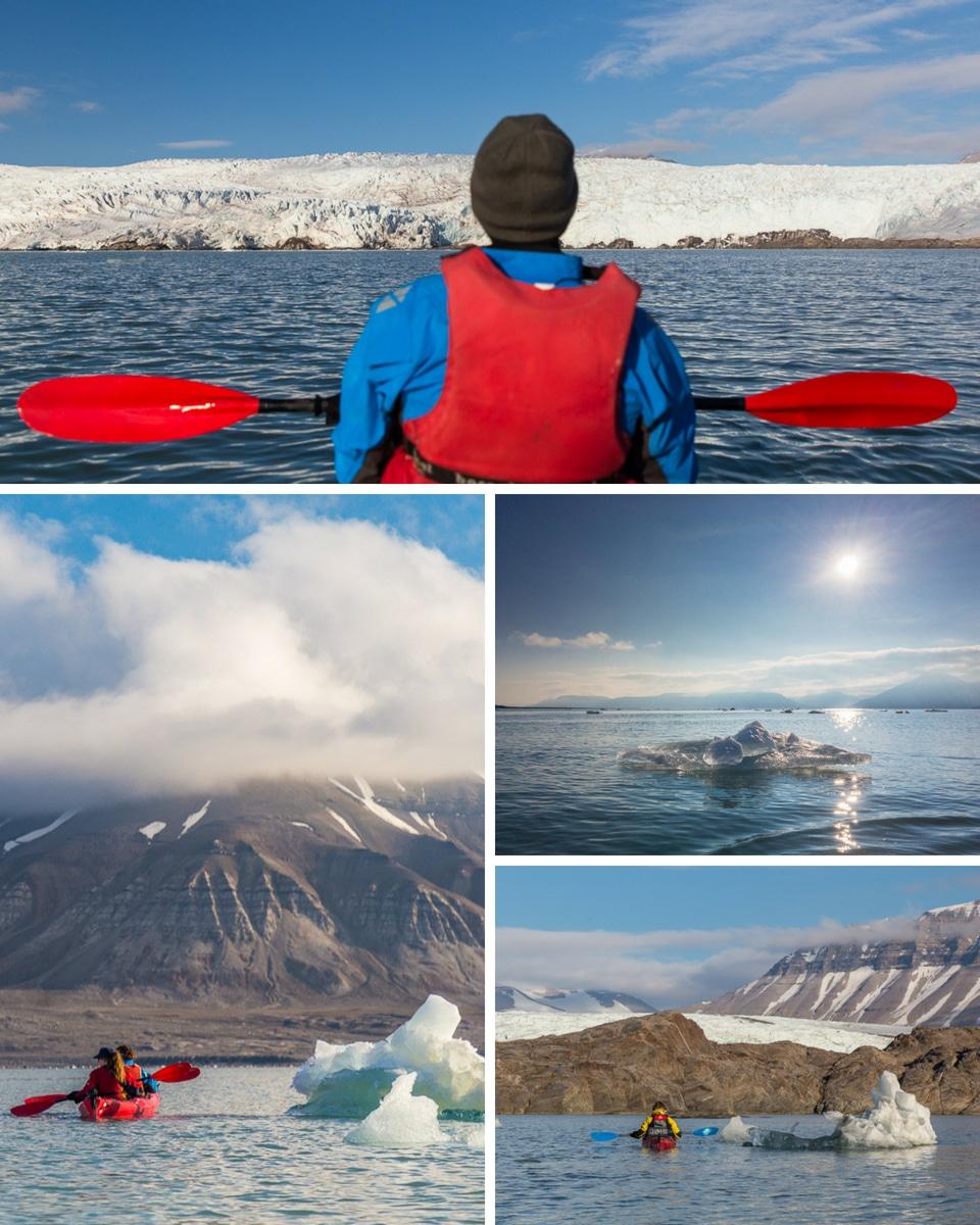 Spitzberg-icebergs