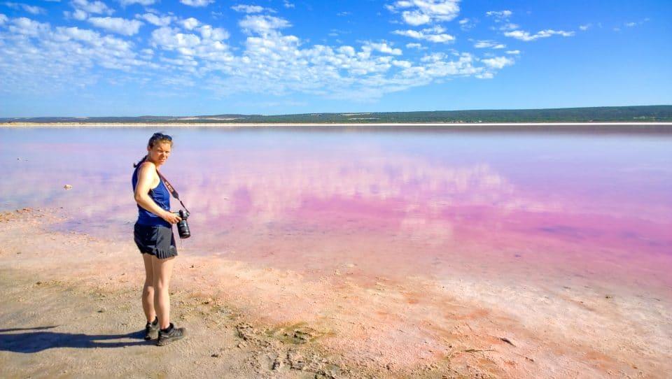 australie-lac-rose-comportements irrespectueux randonneurs